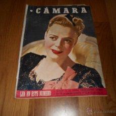 Cine: CAMARA. REVISTA CINEMATOGRÁFICA Nº93 NOVIEMBRE 1946 JUNE LOCKHART NIÑOS EN EL CINE . Lote 51817794