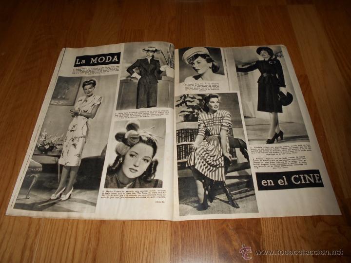Cine: CAMARA. REVISTA CINEMATOGRÁFICA Nº93 NOVIEMBRE 1946 JUNE LOCKHART NIÑOS EN EL CINE - Foto 2 - 51817794