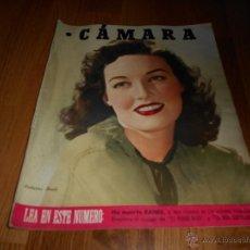 Cine: CAMARA. REVISTA CINEMATOGRÁFICA Nº90 OCTUBRE 1946 KATHERINE BOOTH MARIA ISBERT . Lote 51817972
