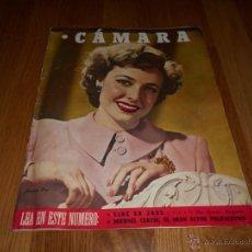 Cinéma: CAMARA. REVISTA CINEMATOGRÁFICA Nº85 JULIO 1946 LARAINE DAY MAURICE CHEVALIER CANTINFLAS . Lote 51818070