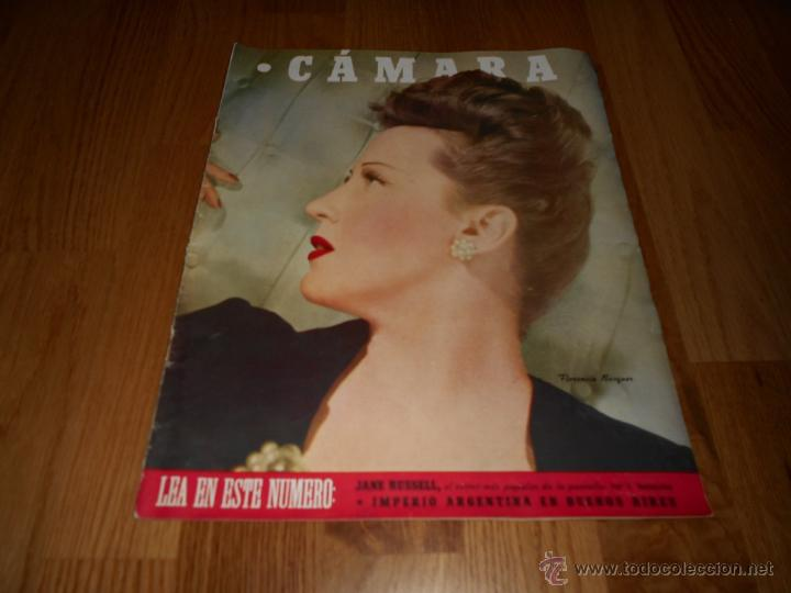 CAMARA. REVISTA CINEMATOGRÁFICA Nº84 JULIO 1946 (Cine - Revistas - Cámara)