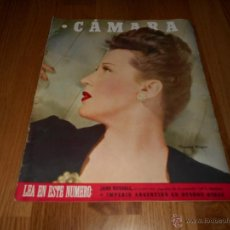 Cinéma: CAMARA. REVISTA CINEMATOGRÁFICA Nº84 JULIO 1946. Lote 51825005
