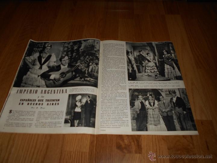 Cine: CAMARA. REVISTA CINEMATOGRÁFICA Nº84 JULIO 1946 - Foto 2 - 51825005
