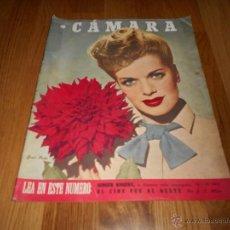 Cine: CAMARA. REVISTA CINEMATOGRÁFICA Nº83 JUNIO 1946 JANIS PAIGE MARIO MORENO JUDY GARLAND GINGER ROGERS . Lote 51830760