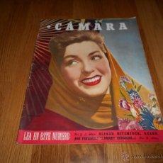 Cine: CAMARA. REVISTA CINEMATOGRÁFICA Nº82 JUNIO 1946 MARSHA HUNT A. HITCHCOCK S. MONTIEL BERGMAN. Lote 51834825