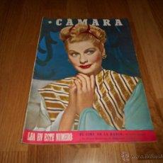 Cine: CAMARA. REVISTA CINEMATOGRÁFICA Nº73 ENERO 1946 LUCILLE BALL VIDA DE RONALD COLMAN . Lote 51839019