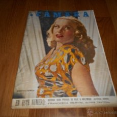 Cine: CAMARA. REVISTA CINEMATOGRÁFICA Nº96 ENERO 1946 DOROTHY PATRICK KATHARINE HEPBURN D. KERR . Lote 51849918