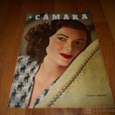 Cine: CAMARA. REVISTA CINEMATOGRÁFICA Nº116 NOVIEMBRE 1947 PATRICIA MARSHALL . Lote 51850092