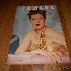 Cine: CAMARA. REVISTA CINEMATOGRÁFICA Nº101 MARZO 1947 MARIA MONTEZ JOAN CRAWFORD . Lote 137510044
