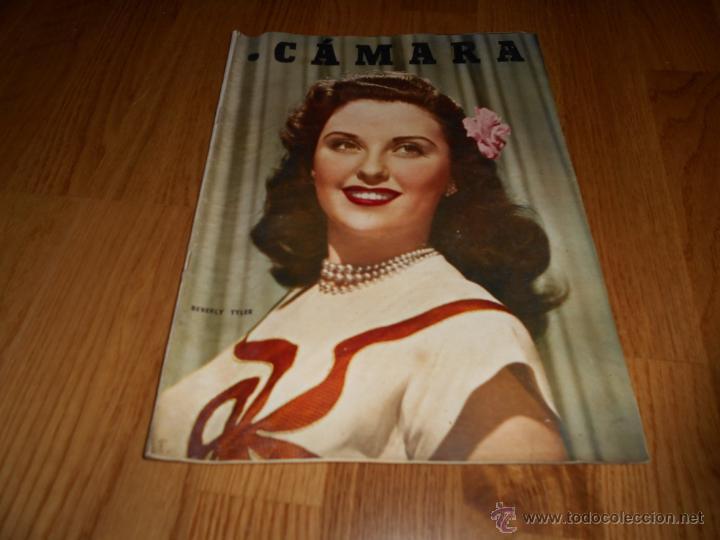 CAMARA. REVISTA CINEMATOGRÁFICA Nº113 SEPTIEMBRE 1947 LASSIE R. TAYLOR MARTA SANTAOLALLA R. REGAN (Cine - Revistas - Cámara)