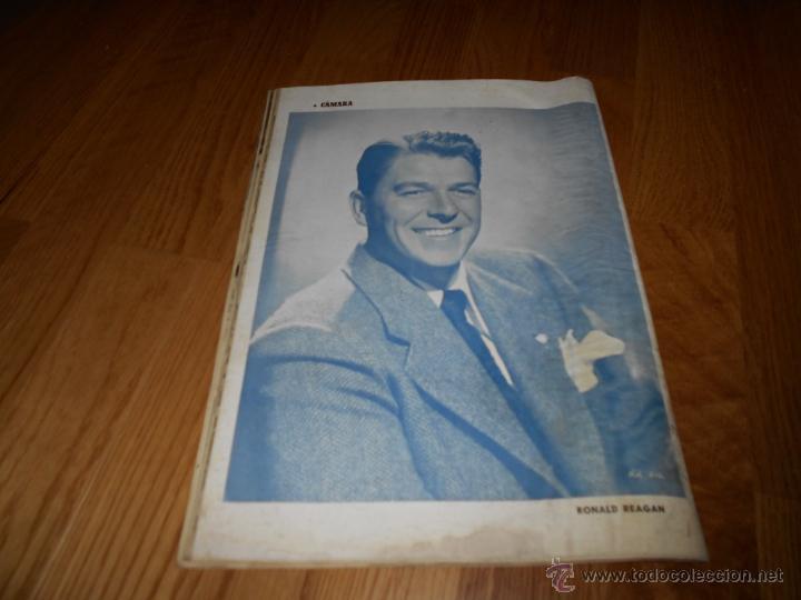 Cine: CAMARA. REVISTA CINEMATOGRÁFICA Nº113 SEPTIEMBRE 1947 LASSIE R. TAYLOR MARTA SANTAOLALLA R. REGAN - Foto 3 - 51885542