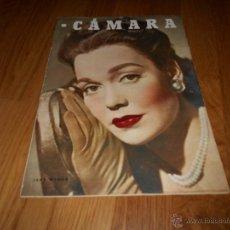Cine: CAMARA. REVISTA CINEMATOGRÁFICA Nº115 OCTUBRE 1947 JANE WYMAN ROBERT TAYLOR ROY ROGERS . Lote 51885947