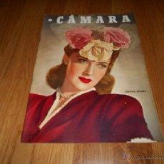 Cine: CAMARA. REVISTA CINEMATOGRÁFICA Nº98 FEBRERO 1947 MARTHA VICKERS K. HEPBURN E. GRANGER . Lote 51886340