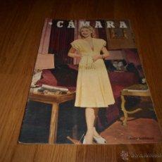 Cine: CAMARA. REVISTA CINEMATOGRÁFICA Nº136 SEPTIEMBRE 1947 MARIE MCDONALD I. BERGMAN VIRGINIA MAYO . Lote 51886894