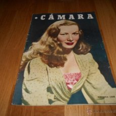Cine: CAMARA. REVISTA CINEMATOGRÁFICA Nº132 JULIO 1948 VERONICA LAKE JORGE NEGRETE BIOGRAFIA DISNEY . Lote 51889087
