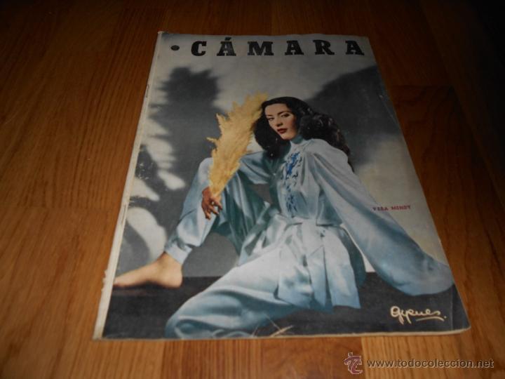 CAMARA. REVISTA CINEMATOGRÁFICA Nº146 FEBRERO 1949 VERA MENDY (Cine - Revistas - Cámara)