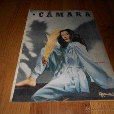 Cine: CAMARA. REVISTA CINEMATOGRÁFICA Nº146 FEBRERO 1949 VERA MENDY . Lote 51890983