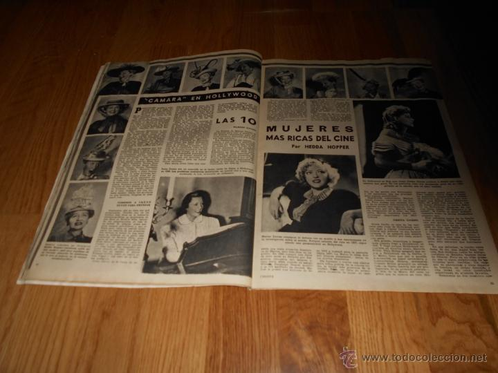 Cine: CAMARA. REVISTA CINEMATOGRÁFICA Nº146 FEBRERO 1949 VERA MENDY - Foto 3 - 51890983