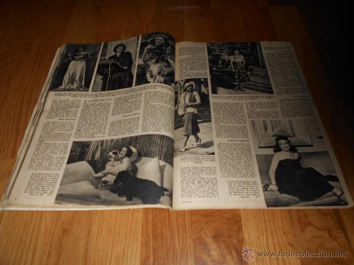 Cine: CAMARA. REVISTA CINEMATOGRÁFICA Nº146 FEBRERO 1949 VERA MENDY - Foto 4 - 51890983