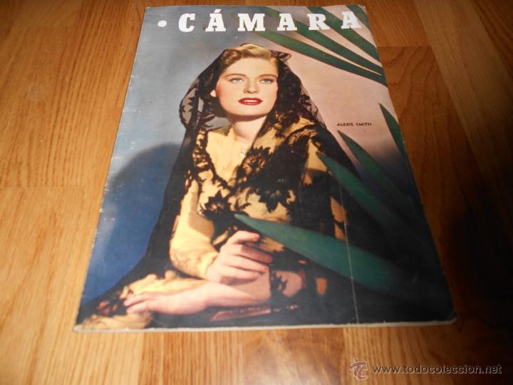 CAMARA. REVISTA CINEMATOGRÁFICA Nº162 OCTUBRE 1949 ALEXIS SMITH MARUJA DIAZ EL AMOR BRUJO L. BACALL (Cine - Revistas - Cámara)