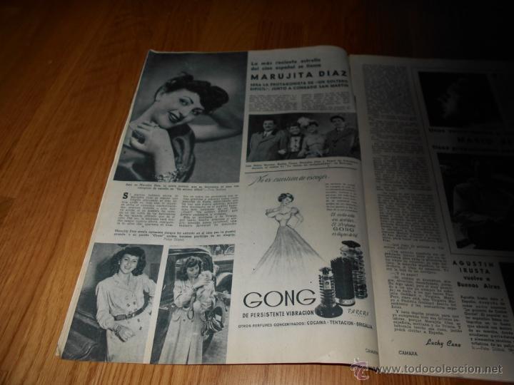 Cine: CAMARA. REVISTA CINEMATOGRÁFICA Nº162 OCTUBRE 1949 ALEXIS SMITH MARUJA DIAZ EL AMOR BRUJO L. BACALL - Foto 2 - 51891244