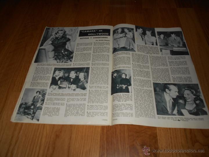 Cine: CAMARA. REVISTA CINEMATOGRÁFICA Nº162 OCTUBRE 1949 ALEXIS SMITH MARUJA DIAZ EL AMOR BRUJO L. BACALL - Foto 3 - 51891244