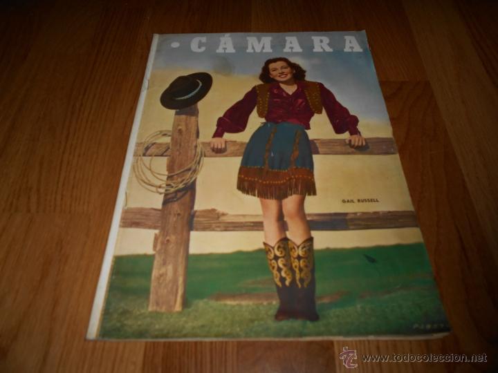 CAMARA. REVISTA CINEMATOGRÁFICA Nº166 DICIEMBRE 1949 GAIL RUSSELL JUANA DE ARCO BERGMAN DORIS DAY (Cine - Revistas - Cámara)