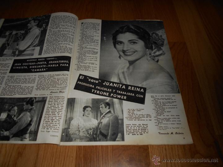 Cine: CAMARA. REVISTA CINEMATOGRÁFICA Nº166 DICIEMBRE 1949 GAIL RUSSELL JUANA DE ARCO BERGMAN DORIS DAY - Foto 3 - 230736640