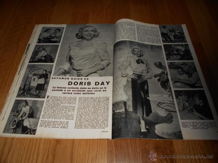 Cine: CAMARA. REVISTA CINEMATOGRÁFICA Nº166 DICIEMBRE 1949 GAIL RUSSELL JUANA DE ARCO BERGMAN DORIS DAY - Foto 4 - 230736640