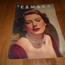 Cine: CAMARA. REVISTA CINEMATOGRÁFICA Nº153 MAYO 1949 DEBORAH KERR ELIA KAZAN . Lote 51893027