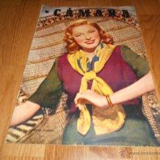 Cine: CAMARA. REVISTA CINEMATOGRÁFICA Nº156 JULIO 1949 ELEANOR PARKER JEAN SIMMONS. Lote 51893974