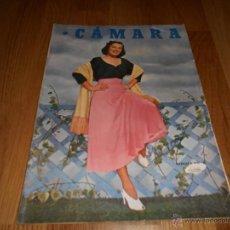 Cine: CAMARA. REVISTA CINEMATOGRÁFICA Nº160 SEPTIEMBRE 1949 BARBARA BATES FRANK CAPRA . Lote 51894263