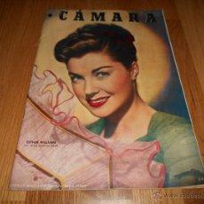 Cine: CAMARA. REVISTA CINEMATOGRÁFICA Nº152 MAYO 1949 ESTHER WILLIAMS MARGARET O`BRIEN . Lote 51894652