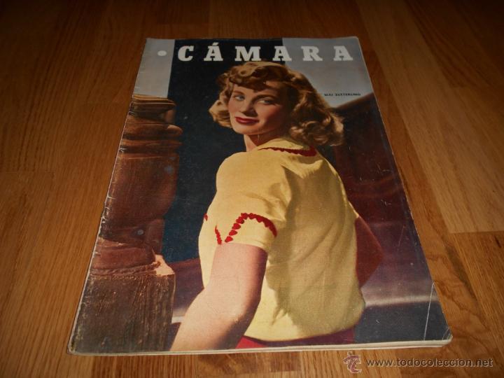 CAMARA. REVISTA CINEMATOGRÁFICA Nº175 ABRIL 1950 (Cine - Revistas - Cámara)