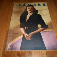 Cine: CAMARA. REVISTA CINEMATOGRÁFICA Nº 1950. Lote 51896371