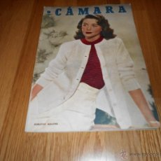 Cine: CAMARA. REVISTA CINEMATOGRÁFICA Nº130 JUNIO 1948 DOROTHY MALONE VIDA MICKEY ROONEY. Lote 51917039