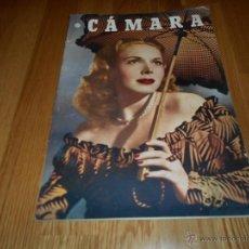 Cine: CAMARA. REVISTA CINEMATOGRÁFICA Nº131 JUNIO 1948. Lote 51917063