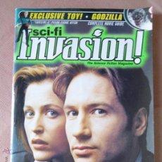 Cine: INVASIÓN! THE SCIENCE FICTION MAGAZINE , GODZILLA, STAR TREK,STAR WARS,X-FILES , ALIEN, ETC. Lote 51920198