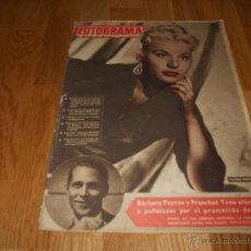 Cine: REVISTA CINE FOTOGRAMAS AÑO 1951 Nº50 BARBARA PAYTON MARYLIN MONROE. Lote 289451963