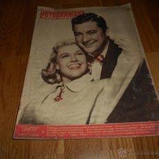 Cine: REVISTA CINE FOTOGRAMAS , AÑO 1951 - Nº161 DENNIIS MORGAN DORIS DAY CONCURSO ELEGIR ACTRIZ ESPAÑOLA. Lote 51923734