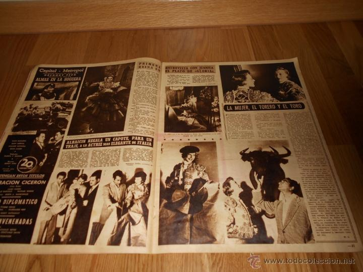 Cine: revista cine fotogramas , año 1952 - Nº203 , barbara payton - la hermana san sulpicio - Foto 2 - 278612308