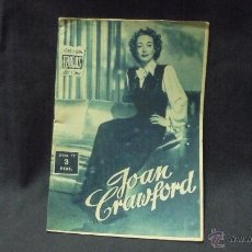 Cine: IDOLOS DEL CINE - Nº 79 - JOAN CRAWFORD. Lote 181700992