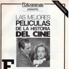 Cine: COLECCIONABLE LAS MEJORES PELÍCULAS, EVA AL DESNUDO. Lote 51930651