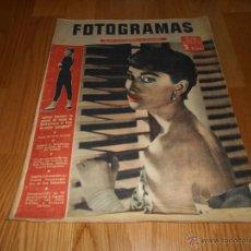 Cine: REVISTA CINE FOTOGRAMAS , AÑO 1954 - Nº296 AUDREY HEPBURN. Lote 51932183