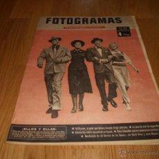 Cine: FOTOGRAMAS Nº472 1957 REVISTA CINEMATOGRÁFICA YUL BRYNNER ROMY SCHNEIDER DAVID NIVEN. Lote 51932496