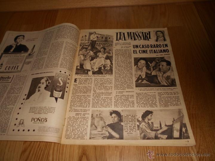 Cine: FOTOGRAMAS Nº472 1957 REVISTA CINEMATOGRÁFICA YUL BRYNNER ROMY SCHNEIDER DAVID NIVEN - Foto 2 - 51932496