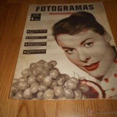 Cine: FOTOGRAMAS Nº 451 19 JULIO 1957 ANNE HEYWOOD GRETA GARBO MARLON BRANDO. Lote 51932796