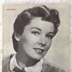 Cine: REVISTA FILM IDEAL - Nº 65 - 1961 - PORTADA: VERA MILES, SEMANA INSTITUTO ITALIANO, EL CASO BUÑUEL. Lote 42668796