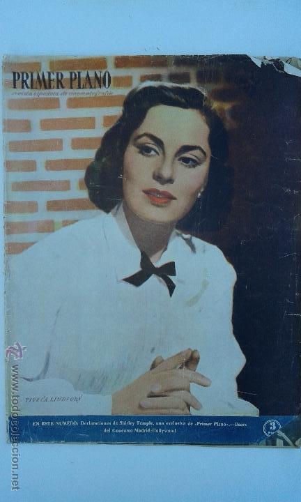 ANTIGUA REVISTA CINEMATOGRAFICA PRIMER PLANO. DICIEMBRE 1949 (Cine - Revistas - Primer plano)