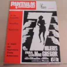 Cine: PANTALLAS Y ESCENARIOS Nº 74-AÑO 1967 - LUIS RICO - WISE - MARISOL - BERLIN. Lote 51965278